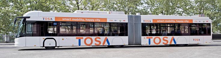 ABB установит в Женеве зарядные станции, подзаряжающие электробус за 15 секунд