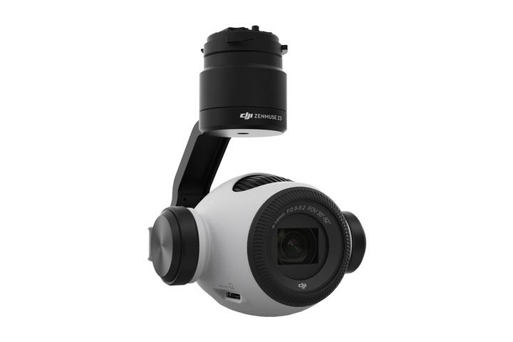 DJI Zenmuse Z3 — первая камера для дронов данного производителя с семикратным зумом