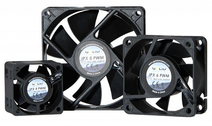 Gelid IPX: серия промышленных вентиляторов с балансировкой и японскими шарикоподшипниками - 1