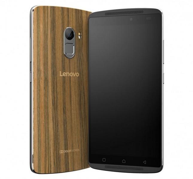 Смартфон Lenovo K4 Note получил деревянную крышку