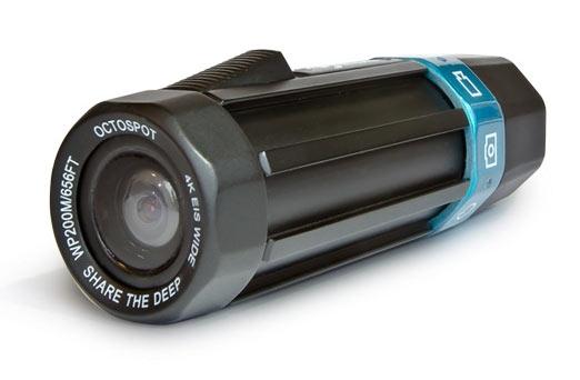 Камера Octospot позволяет снимать видео 4К с кадровой частотой 30 к/с