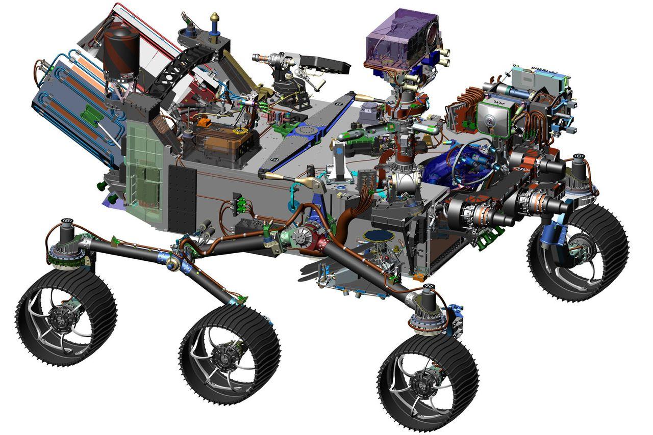 Новый марсоход NASA Mars 2020 займется поиском следов жизни на Красной планете - 1