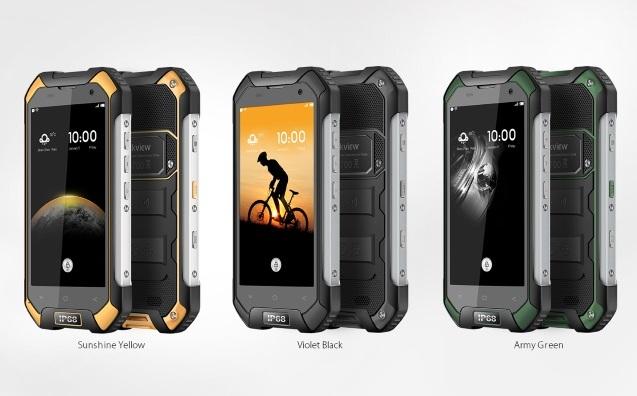 Защищенный смартфон Blackview BV6000S оценен в $150