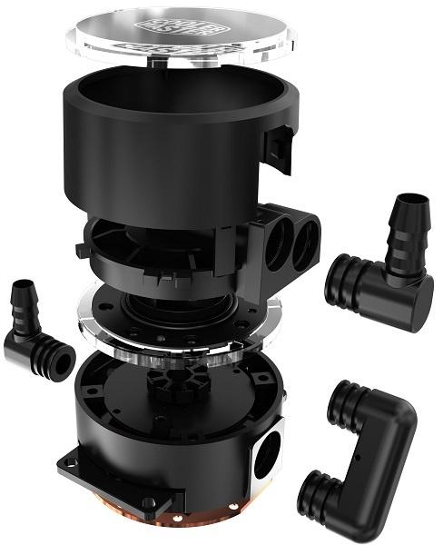 СВО Cooler Master MasterLiquid Pro 120 и Pro 240 получили новую двухкамерную помпу
