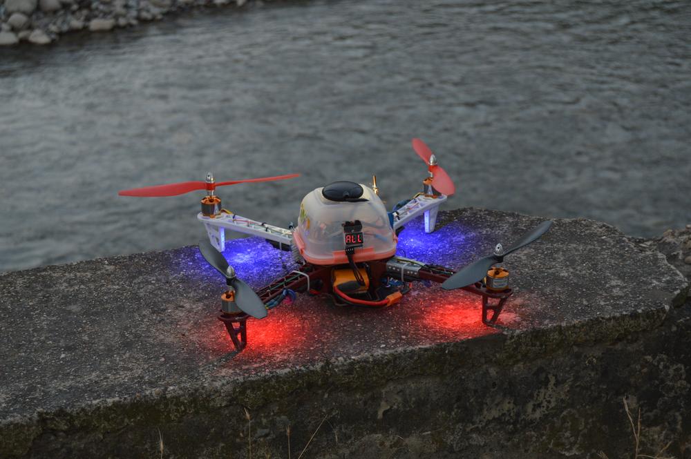 Бюджетный Х-коптер 450 класса: тернистый путь постройки стабильно летающей версии - 2
