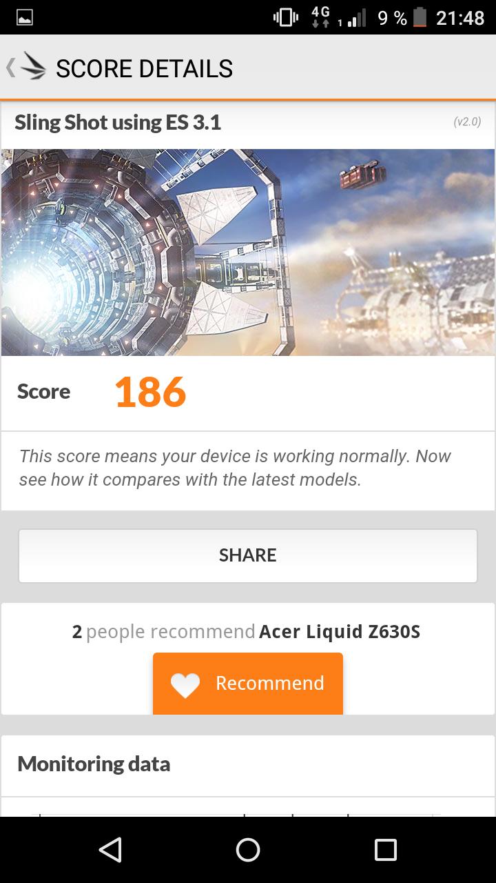 Обзор Acer Liquid Z630S: технологичный долгожитель - 19