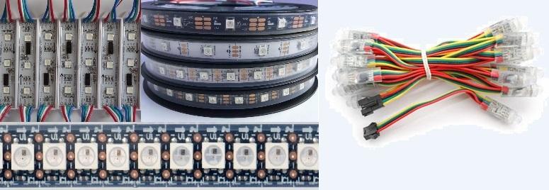 Ограничения в использовании умных светодиодов WS2812, WS2801 и подобных в современных проектах декоративной светотехники - 1