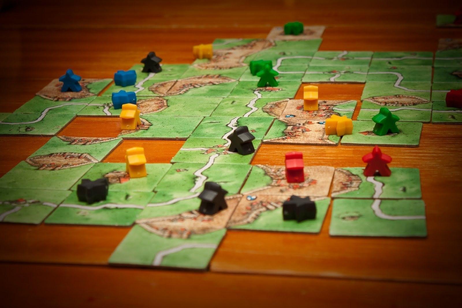 Основы геймдизайна: 20 настольных игр. Часть чертвертая: Билет на поезд, Каркассон, Колонизаторы - 3