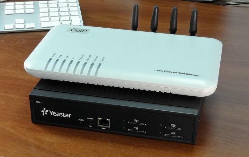 Отправка и приём SMS сообщений с помощью VoIP шлюзов GoIP и Yeastar - 1