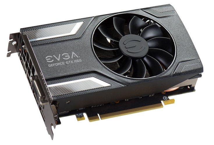EVGA представила две видеокарты GTX 1060