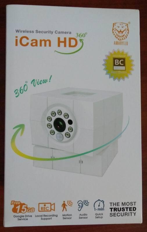 iCam HD 360: видеоняня или автономная система видеонаблюдения? - 1