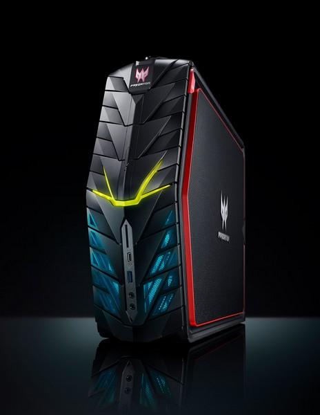 Игровой ПК Acer Predator G1 оснащается видеокартой GeForce GTX 1080