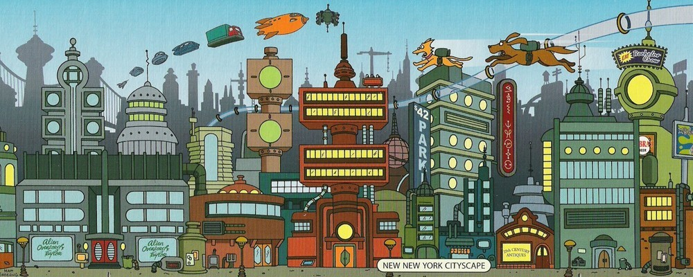 Как будут выглядеть города будущего? - 1