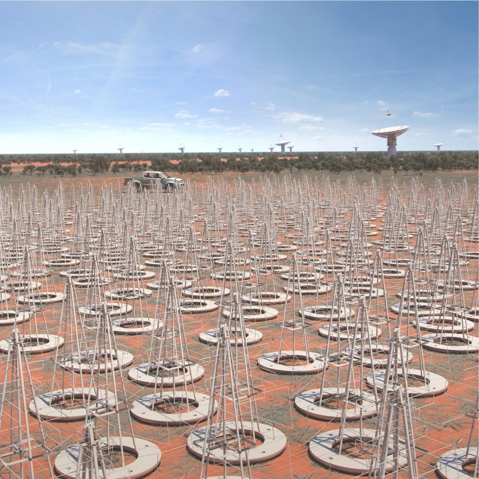 Крупнейший радиотелескоп MeerKAT запустили в тестовом режиме на четверть мощности - 3