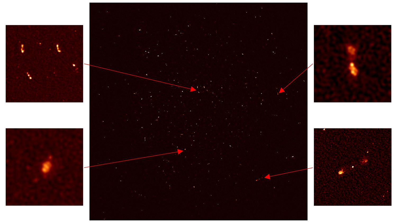 Крупнейший радиотелескоп MeerKAT запустили в тестовом режиме на четверть мощности - 5