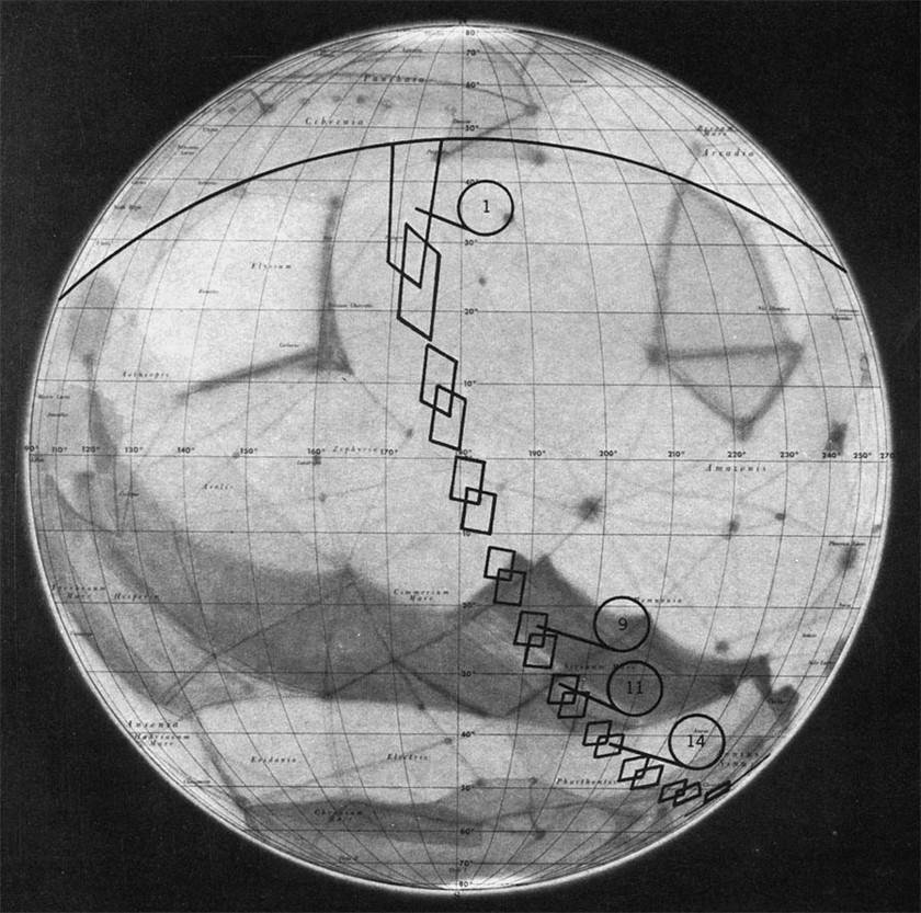 Первое в истории изображение Марса, сделанное космическим аппаратом, было раскрашено вручную. Почему? - 6