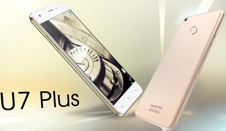 Смартфон Oukitel U7 Plus обзаведется датчиком отпечатков пальцев