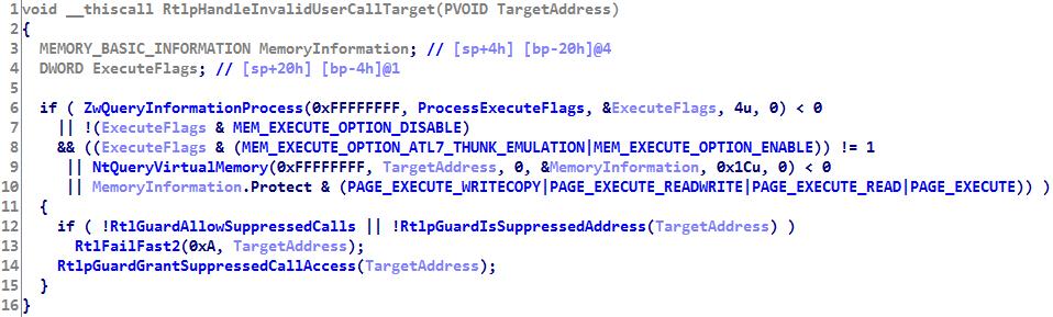 Control Flow Guard. Принцип работы и методы обхода на примере Adobe Flash Player - 11