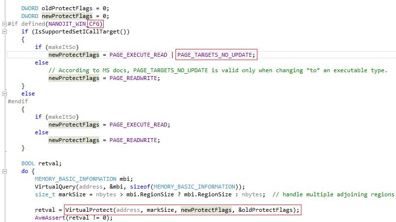 Control Flow Guard. Принцип работы и методы обхода на примере Adobe Flash Player - 23
