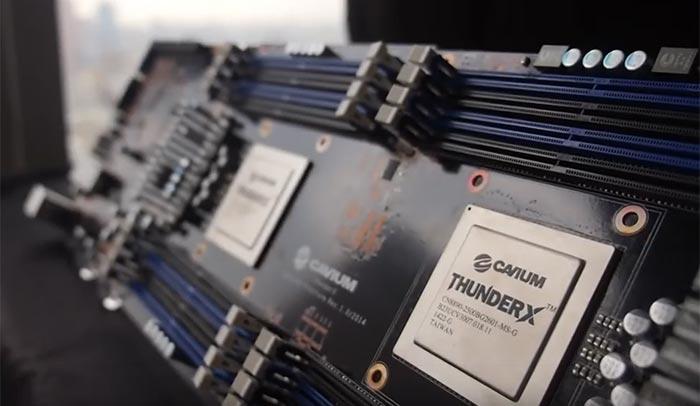 Процессоры Cavium ThunderX построены на архитектуре ARMv8