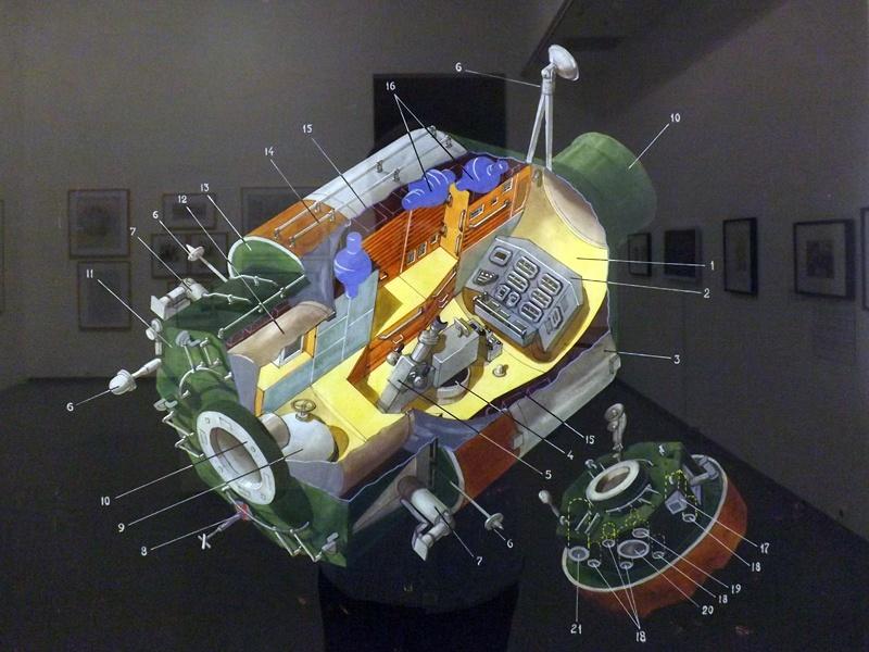 Космические выставки Москвы - 35