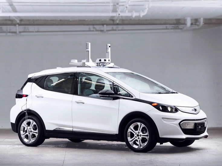 General Motors разрабатывает беспилотное авто для сервиса Lyft