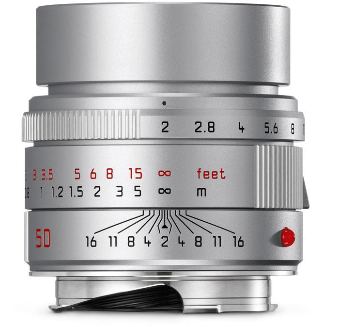 Продажи серебристого варианта объектива Leica APO-Summicron-M 50mm f/2 ASPH начнутся в конце текущего месяца