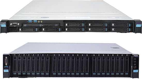 В сервере Inspur Memory1 NF5180M4 типоразмера 1U установлено два процессора Intel Xeon E5-2660 v4