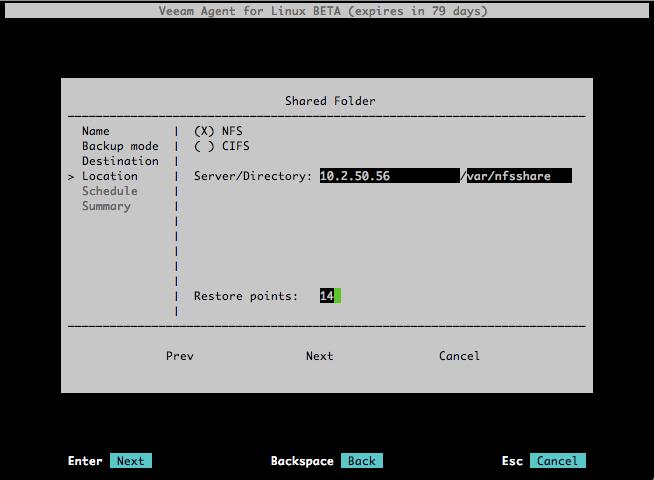 Знакомство с Veeam Agent for Linux - 6
