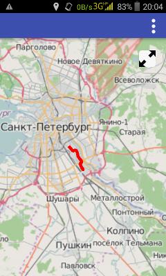 GPS трекер на Qt, карта и трек - 2
