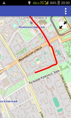 GPS трекер на Qt, карта и трек - 1