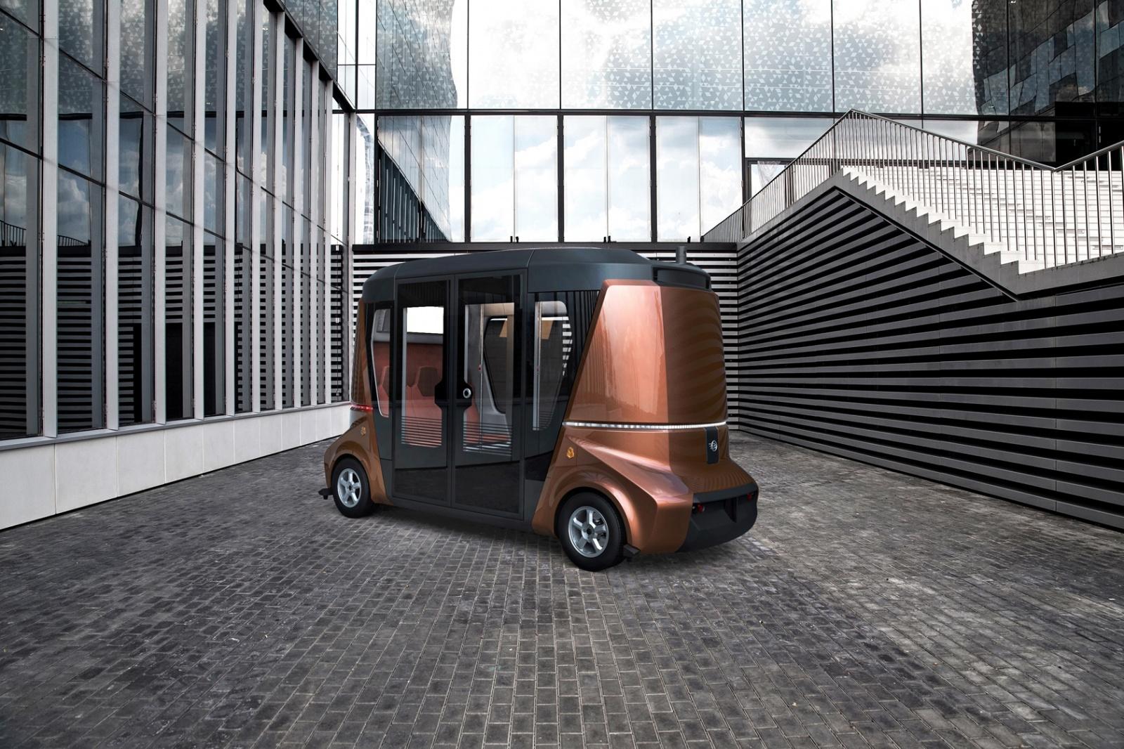 MATRЁSHKA – модульная система беспилотного коммерческого транспорта - 1