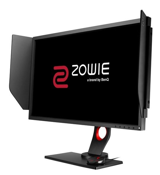 Монитор Benq Zowie XL2735 поддерживает кадровую частоту 144 Гц
