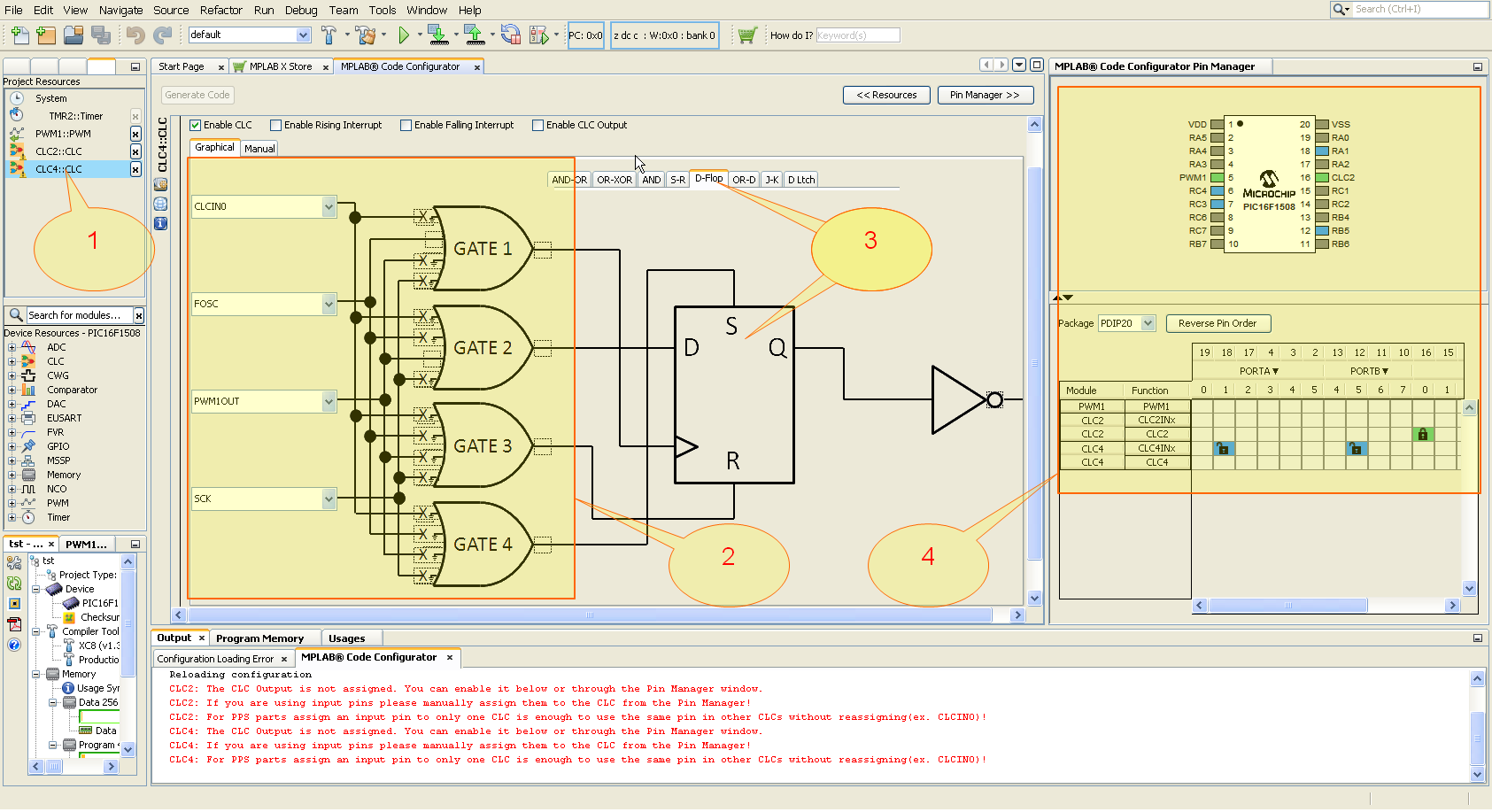 Конфигурируемые логические ячейки в PIC микроконтроллерах - 10
