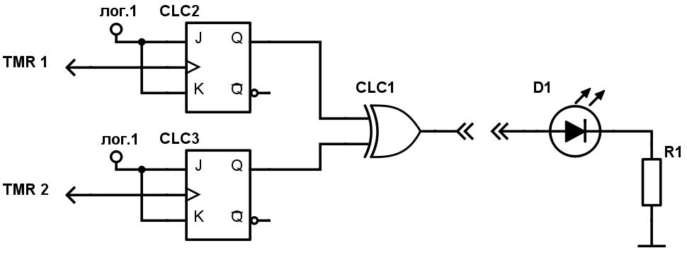 Конфигурируемые логические ячейки в PIC микроконтроллерах - 13
