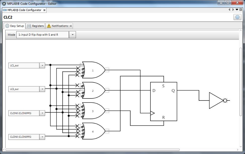 Конфигурируемые логические ячейки в PIC микроконтроллерах - 17
