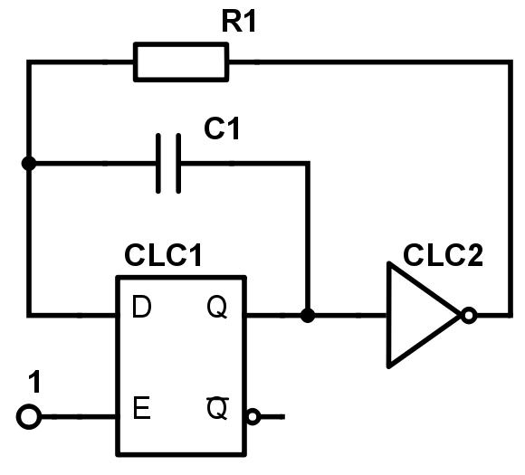 Конфигурируемые логические ячейки в PIC микроконтроллерах - 48