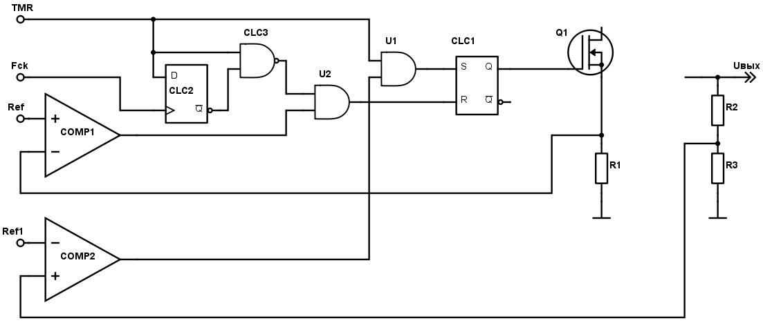 Конфигурируемые логические ячейки в PIC микроконтроллерах - 59