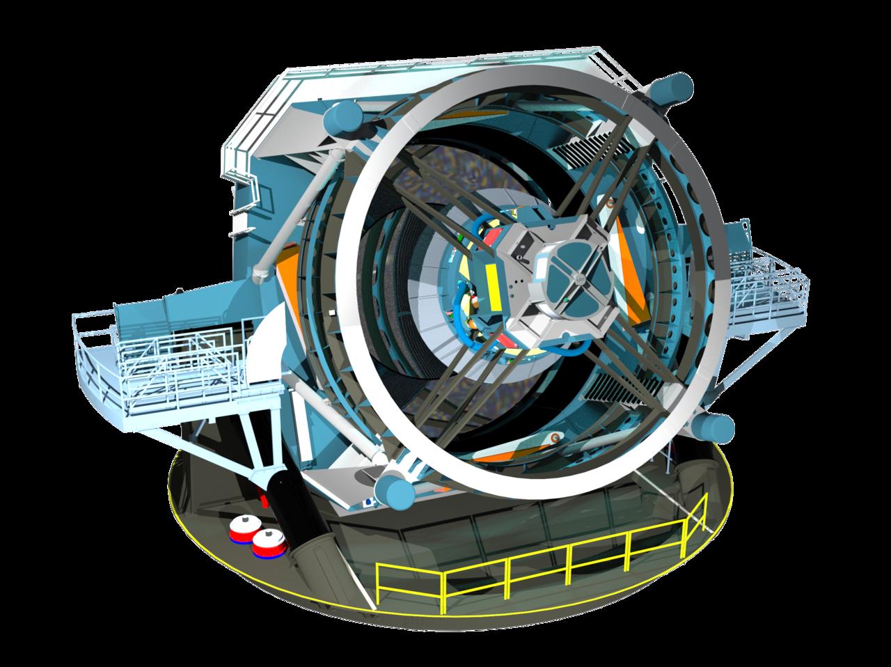 Обзор новых больших телескопов - 25