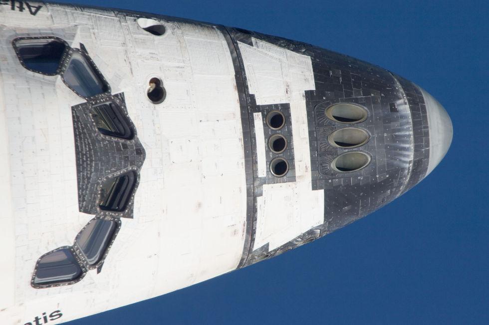Последний полет шаттла глазами астронавта МКС - 10