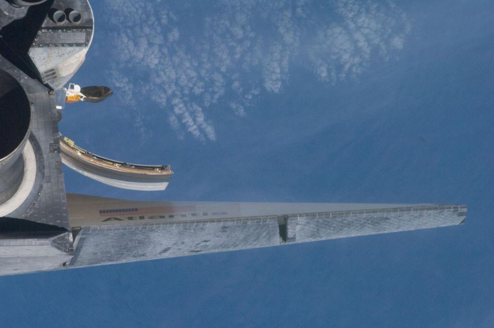 Последний полет шаттла глазами астронавта МКС - 11