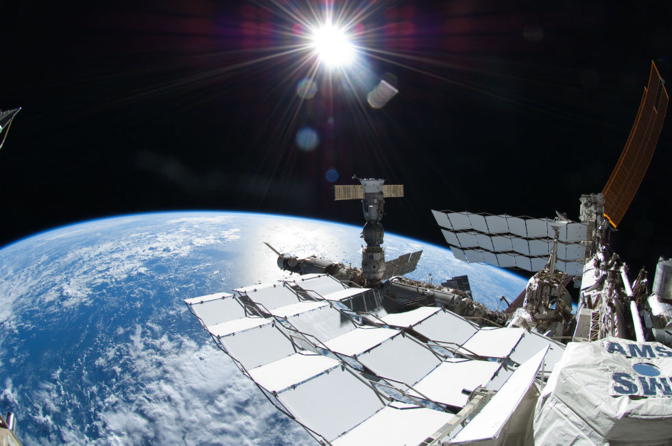 Последний полет шаттла глазами астронавта МКС - 12