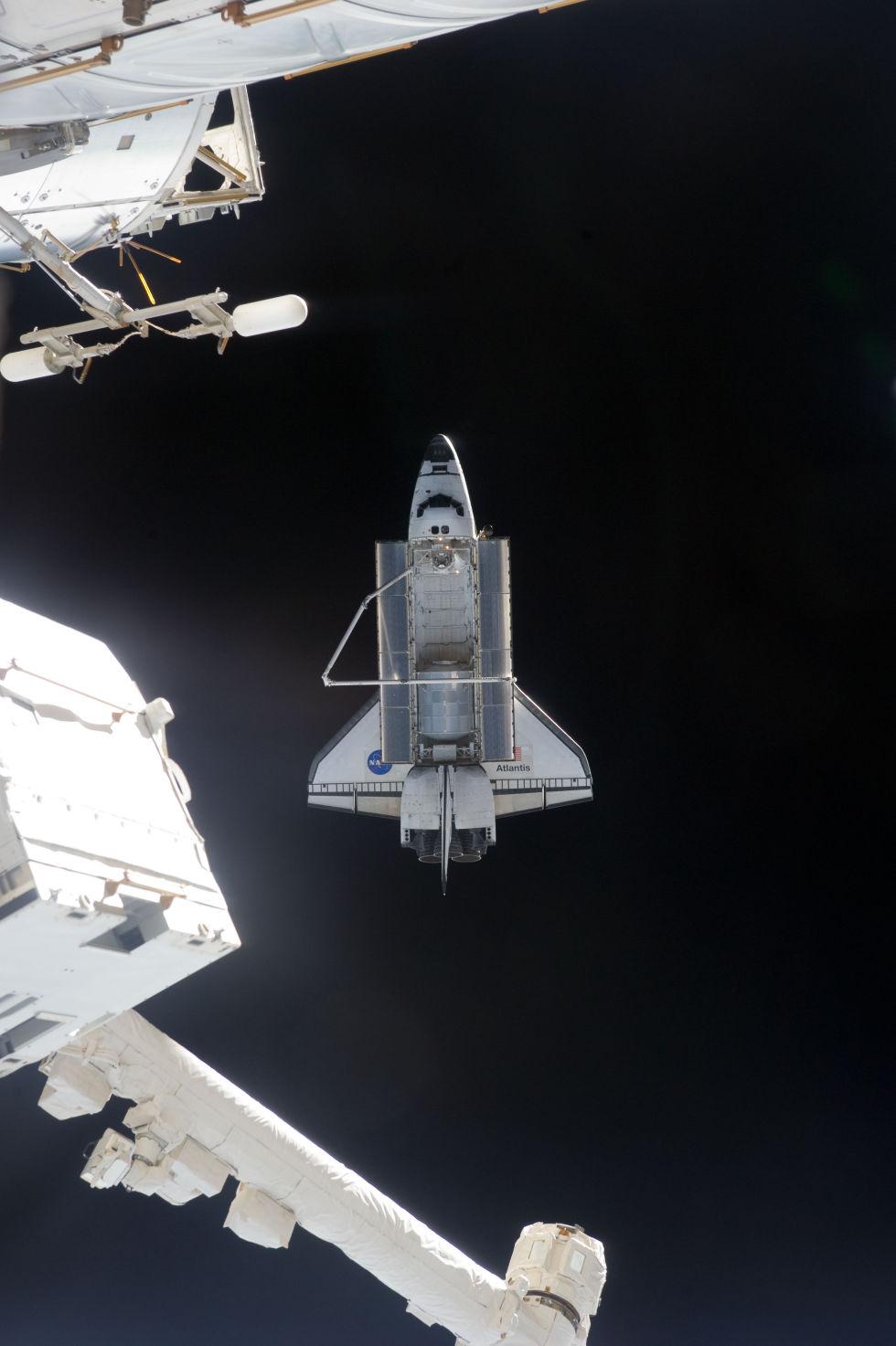Последний полет шаттла глазами астронавта МКС - 13