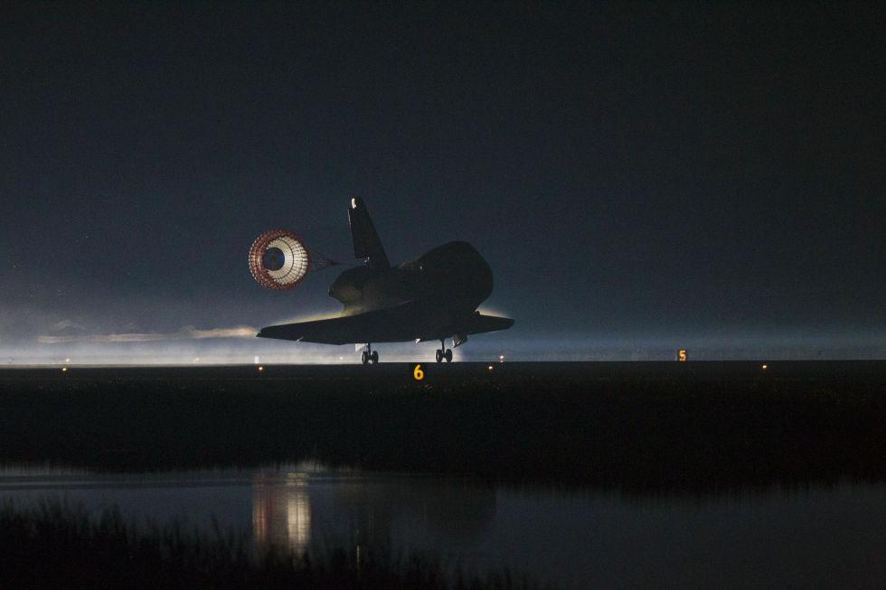 Последний полет шаттла глазами астронавта МКС - 14