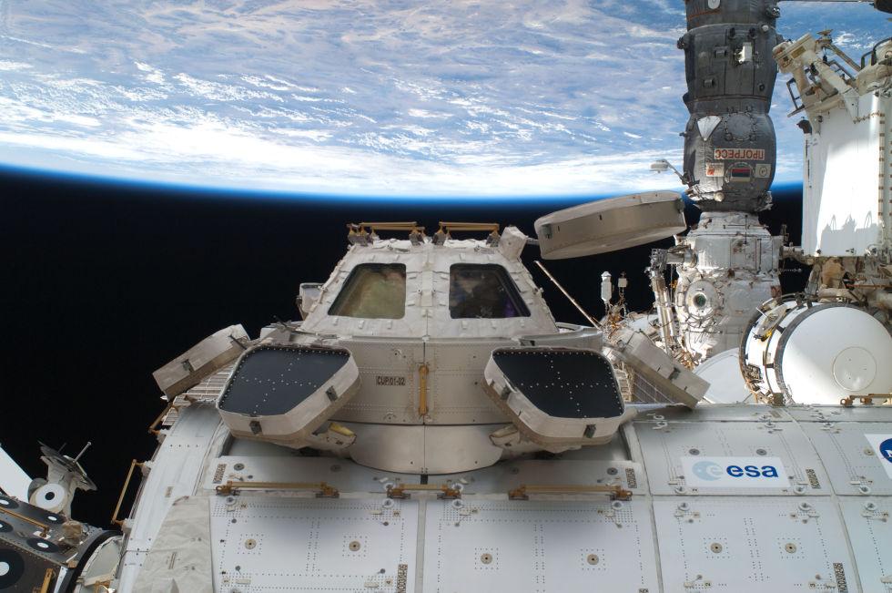 Последний полет шаттла глазами астронавта МКС - 3