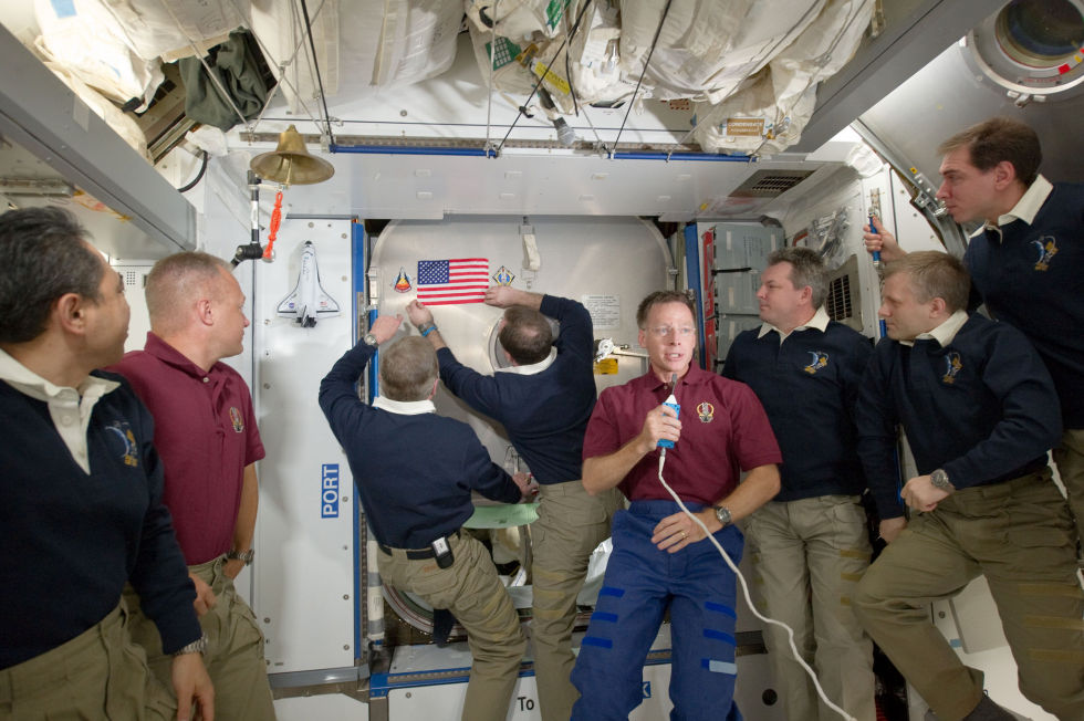 Последний полет шаттла глазами астронавта МКС - 4