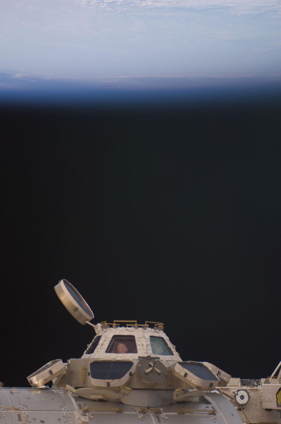 Последний полет шаттла глазами астронавта МКС - 5