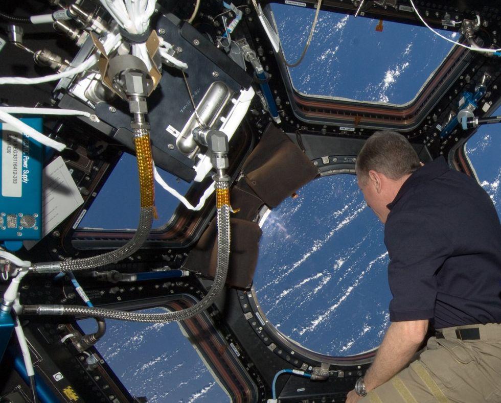 Последний полет шаттла глазами астронавта МКС - 6