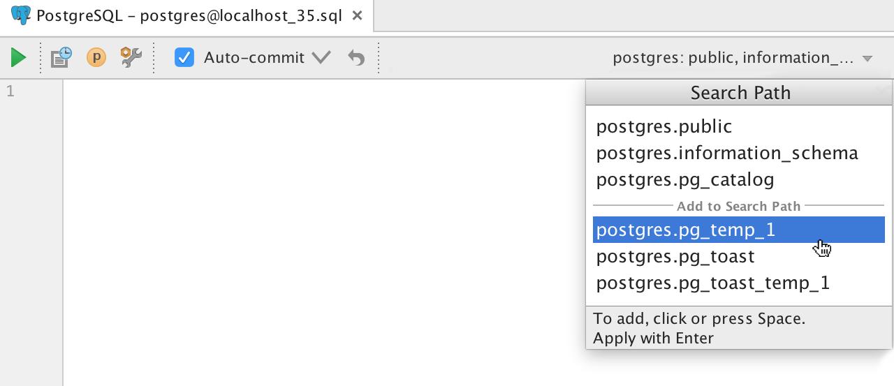 Релиз DataGrip 2016.2: Импорт CSV, поддержка JSON и XML в строках, динамический SQL, улучшения для PostgreSQL - 19