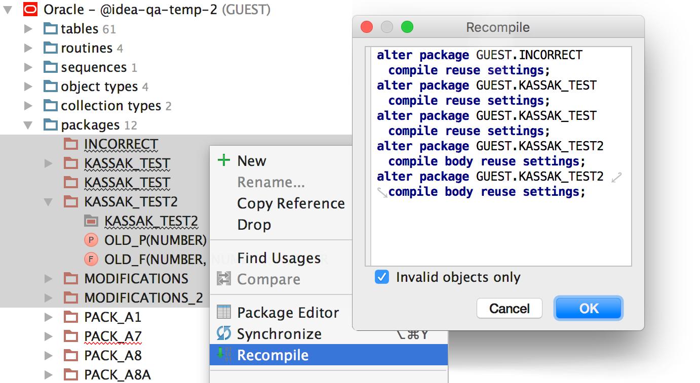 Релиз DataGrip 2016.2: Импорт CSV, поддержка JSON и XML в строках, динамический SQL, улучшения для PostgreSQL - 21